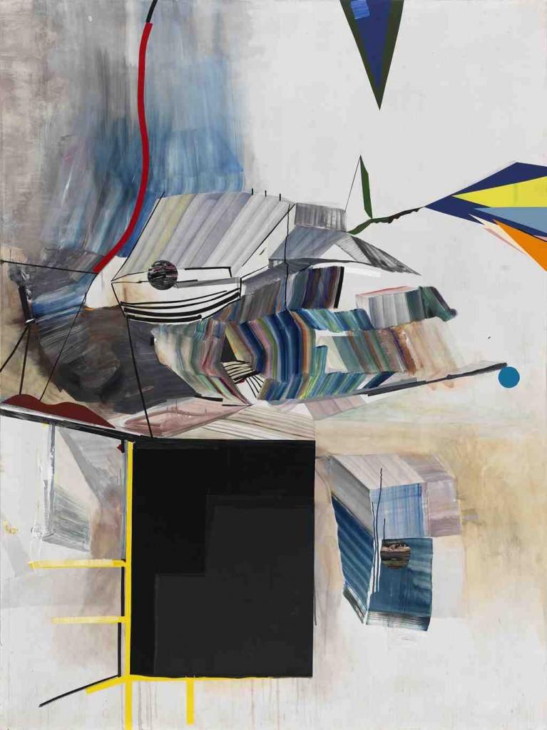 Obra de Vicky Uslé en la exposición 'Incomplétudes'. Imagen cortesía de Espai Tactel.
