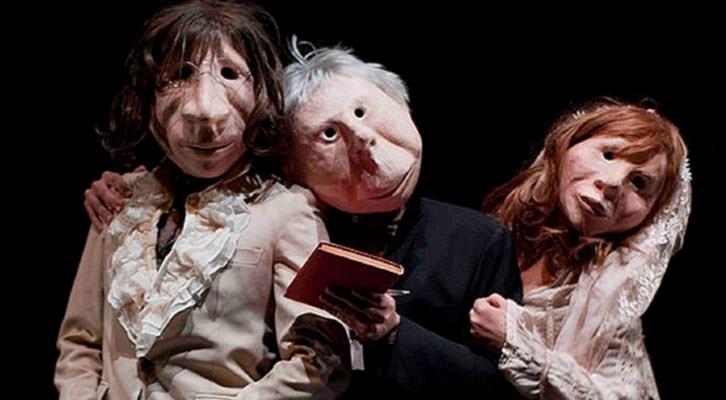 Imagen de André y Dorine, de Iñaki Rekarte. Teatre Escalante