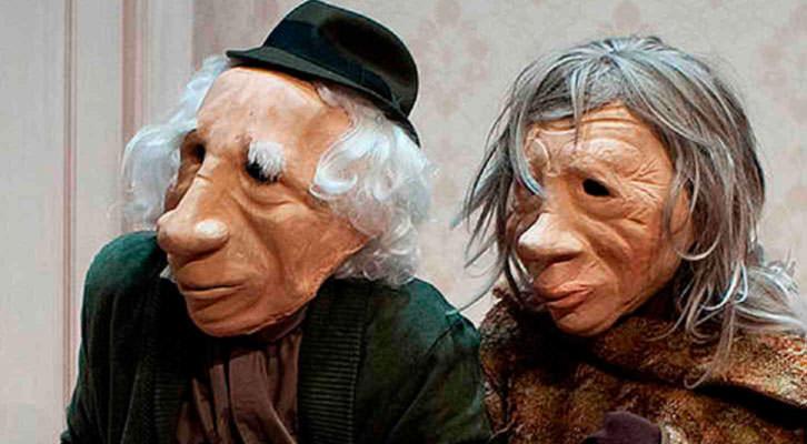 Imagen de 'André y Dorine', de Kulunka Teatro. Cortesía de Centre Teatral Escalante.