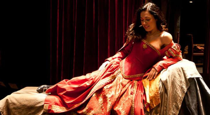 Escena de 'La puta enamorada', una de las obras de Arden Producciones.
