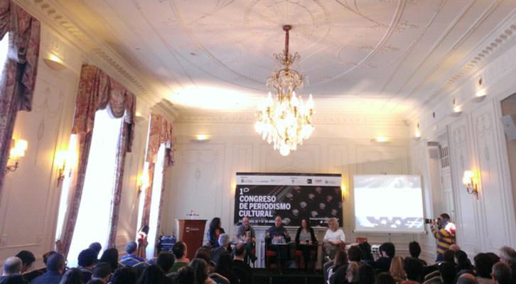 I Congreso de Periodismo Cultural. Imagen cortesía de Palacio de la Magdalena de Santander.