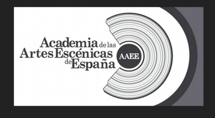 Logo de la Academia de las Artes Escénicas de España. Imagen de la web de la Academia.