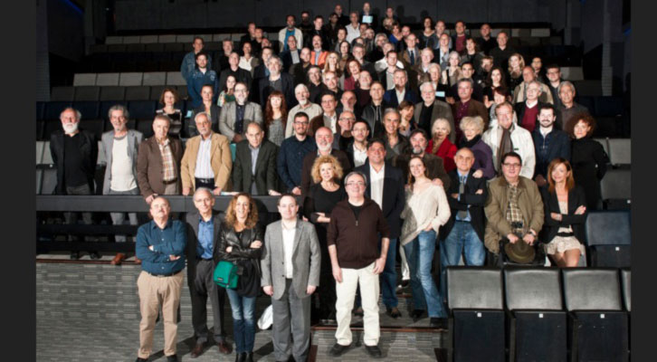 Miembros de la Academia de las Artes Escénicas de España, durante su presentación. Imagen de la web de la Academia.