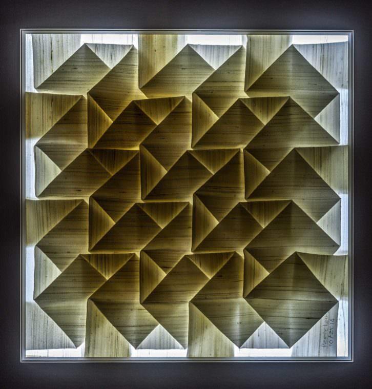 Imagen de la pieza 'Estudio Geométrico 1'. Fotografía de Lilia Koutsoukou.