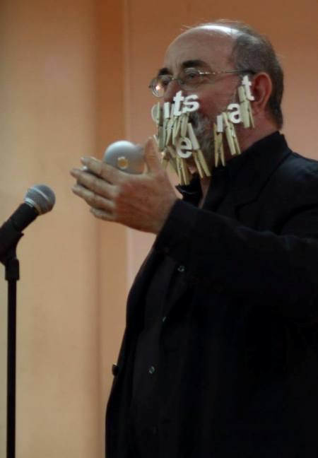 Festival Nits, Bartomeu Ferrando (performance). Fotografía: Manu Marpel