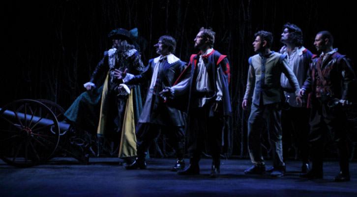 Escena de 'Cyrano de Bergerac'. Imagen cortesía de L'Horta Teatre.