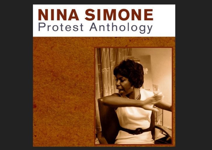 Portada del disco de Nina Simone 'Protest Anthology'.