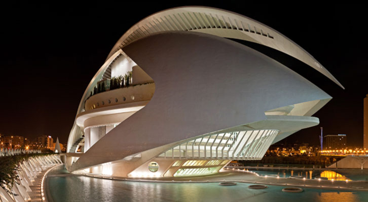 Imagen del Palau de les Arts.