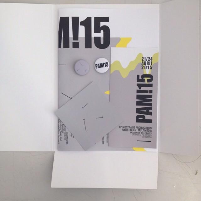 Cartel anunciador de PAM!15. Cortesía de los organizadores.