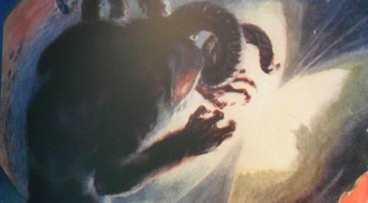 Obra de José Segrelles en la exposición del MuVIM.