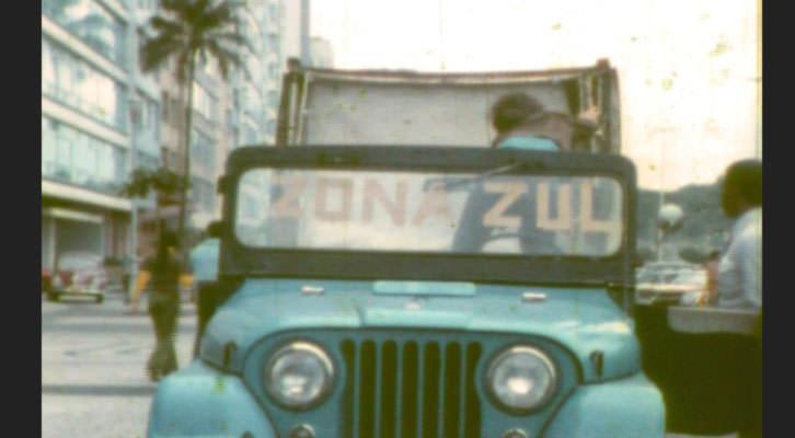 Fotograma de 'Zona zul', de Henrique Faulhaber, en el ciclo 'Alô alô mundo!'. Filmoteca de Valencia.