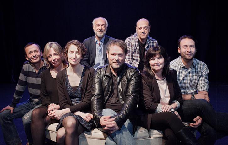 La compañía Arden al completo. Fotografía: Juan Terol. Cortesía de Sala Russafa.
