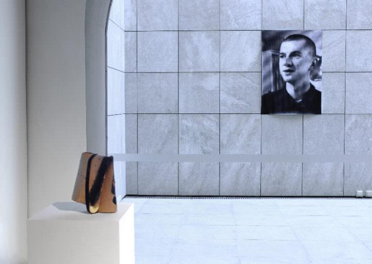 Obra de Ian Waelder en la exposición 'Believe Me, I Tried' del Palau de Valeriola. Imagen cortesía de Fundación Chirivella Soriano.