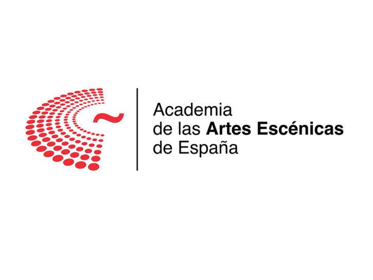 Logotipo de la Academia de las Artes Escénicas de España. Imagen cortesía de la Academia.