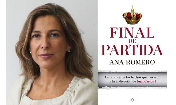 'Final de partida', de Ana Romero. La Esfera de los Libros.