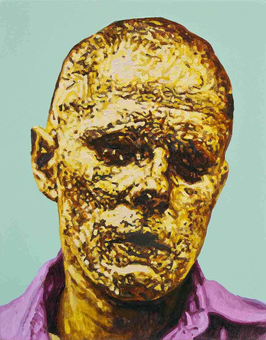 Beuys, de Javier Palacios, en 'Shit Behind Beauty'. Imagen cortesía de Espai Tactel.