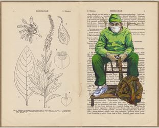 Imagen de la obra de Domínguez Gómez, artista revelación de MASQUELIBROS 2015