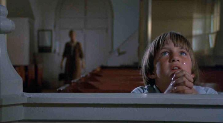 Chris Udvarnoky en un fotograma de 'El otro', de Robert Mulligan. Imagen cortesía de Aula de Cinema de la Universitat de València.