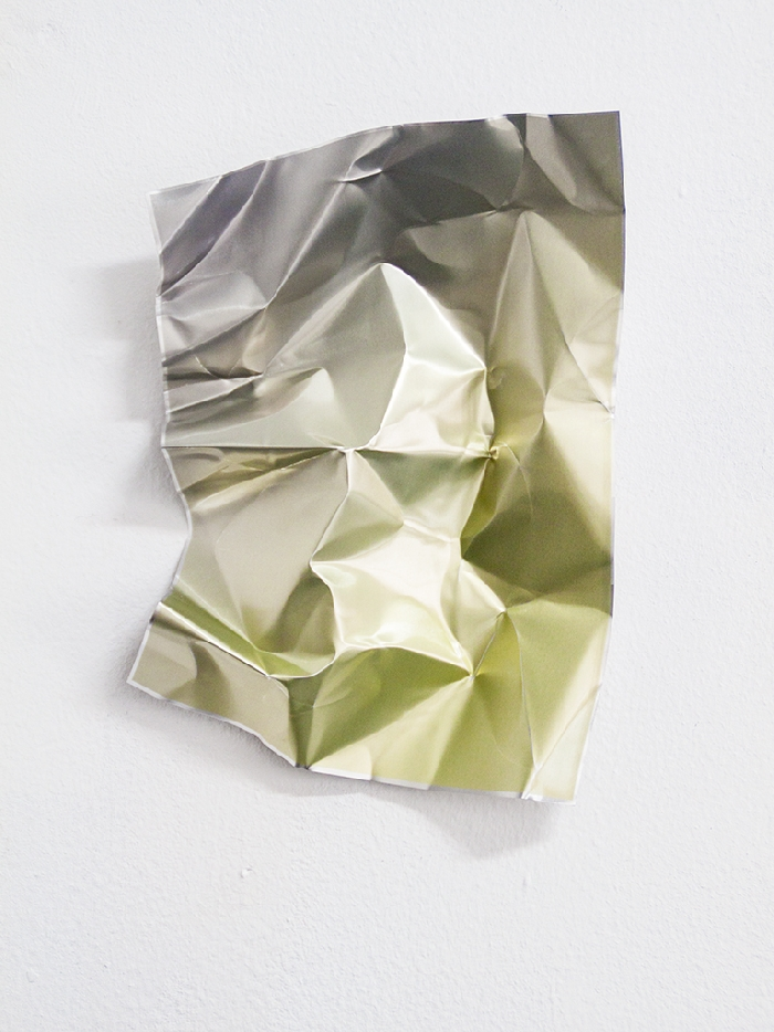 Obra de Inma Femenía. Graded Metal. Área 72.