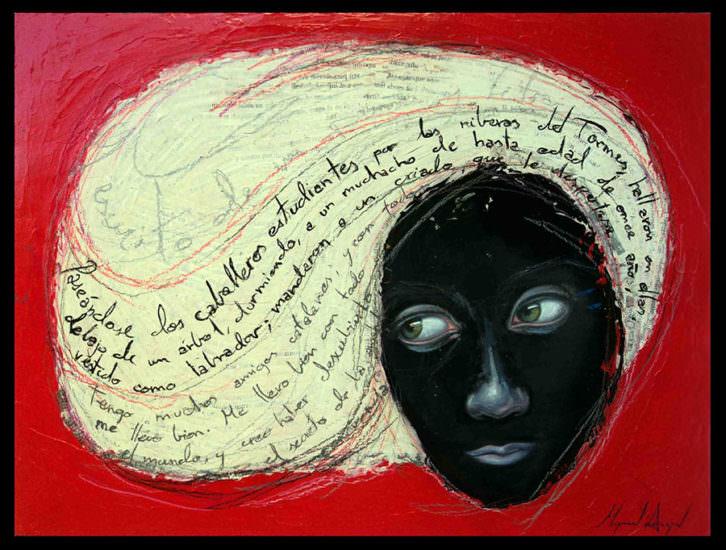 'Gramática', de Miguel Ángel Aranda en 'Septies Septem'. Imagen cortesía de Imprevisual Galería.