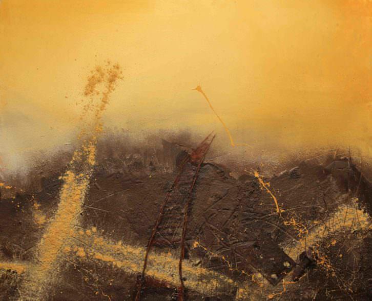 """Imagen de la obra """"Horizontes de Kenya"""". Fotografía cortesía del artista."""