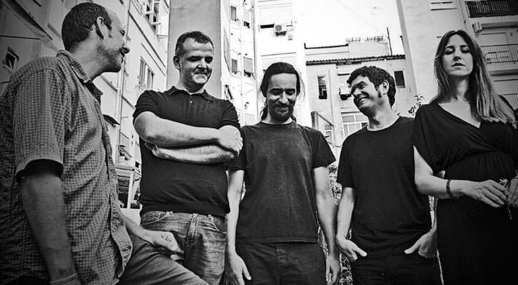 La banda valenciana Lülla. Fotografía: Rubén Soler.