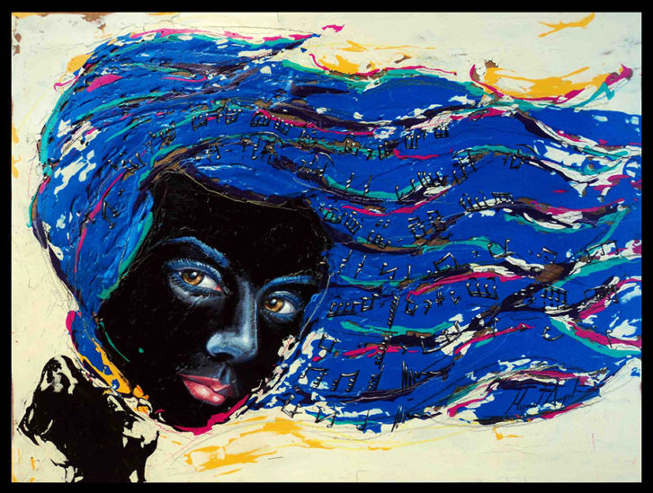 'Música' de Miguel Ángel Aranda en 'Septies Septem'. Imagen cortesía de Imprevisual Galería.