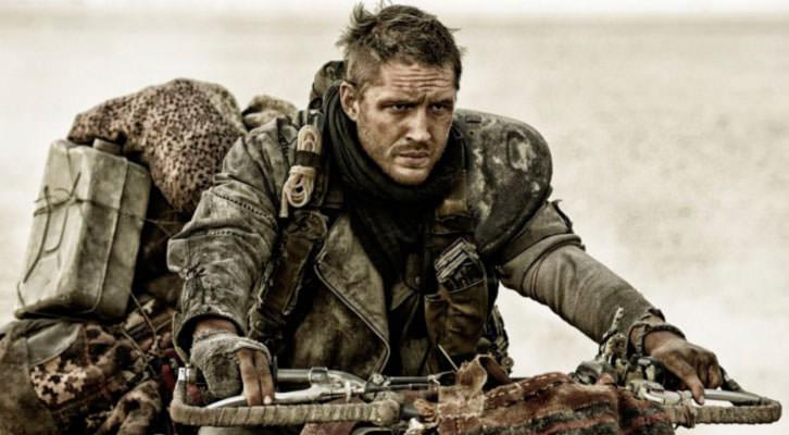 Tom Hardy en un fotograma de 'Mad Max: Furia en la carretera', de George Miller.