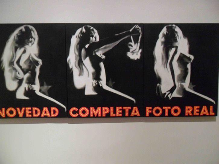 Obra de Mavi Escamilla en la exposición Mundo B del Centre Cultural La Nau.