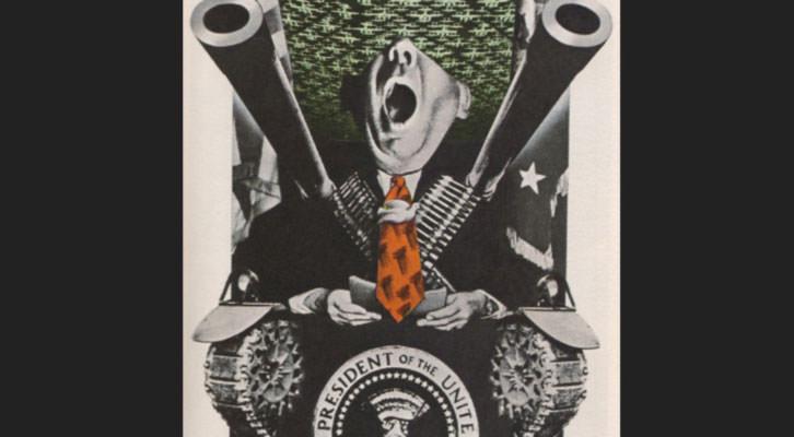 Obra de Jose Renau, en 'Tristes armas'. IVAM.