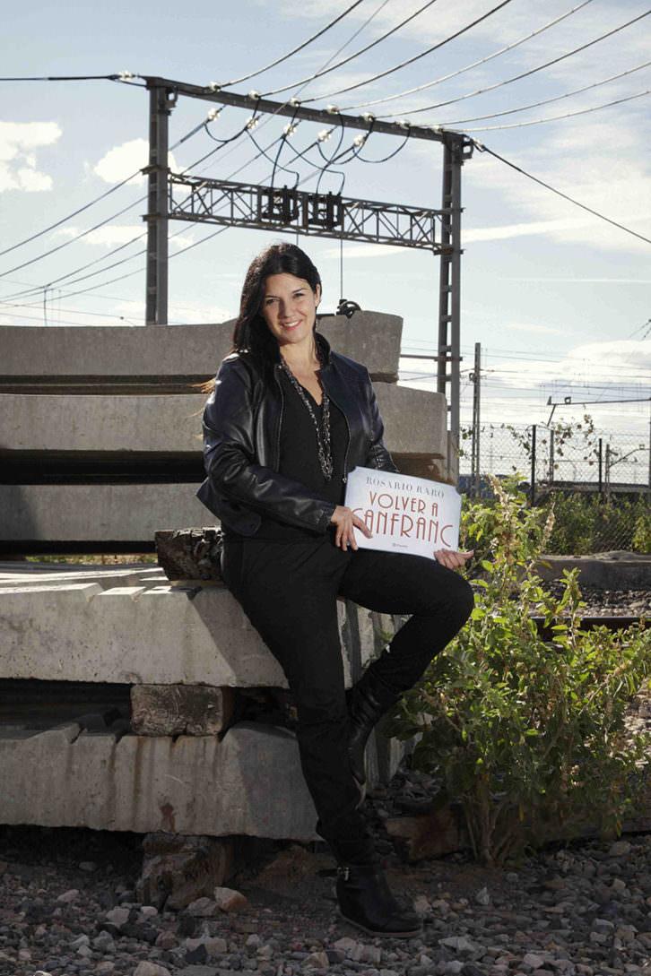 Rosario Raro, autora de 'Volver a Canfranc'. Cortesía de Planeta.
