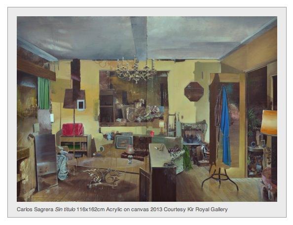 Obra de Carlos Sagrera en la exposición 'Ausencia'. Imagen cortesía de Kir Royal.