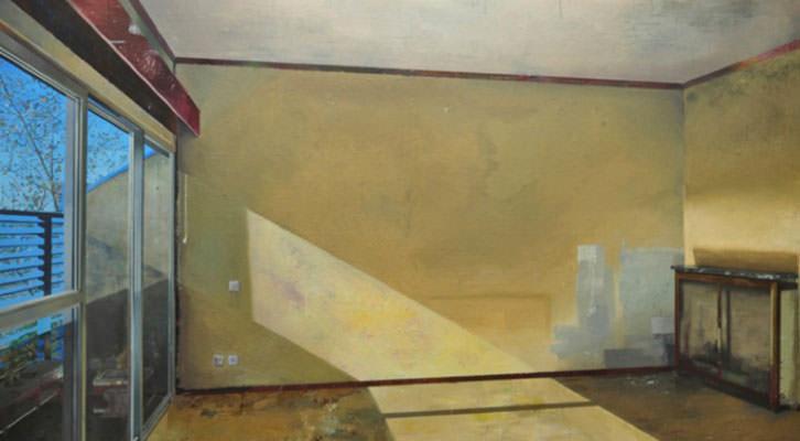 Obra de Carlos Sagrera en 'Ausencias'. Imagen cortesía de Kir Royal.