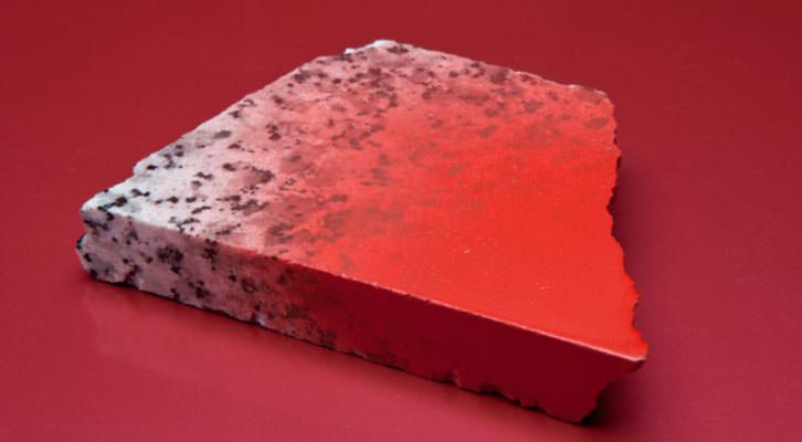 Obra de Sandra Ferrer en 'Escaleras húmedas'. Imagen cortesía de Galería Mr. Pink.