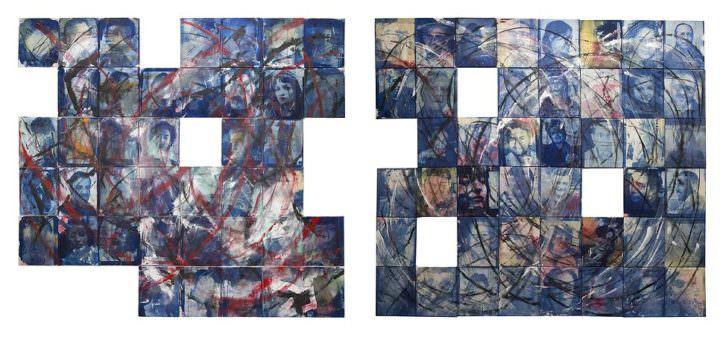 Obra de Carlos Sebastià en la exposición 'Construcción del cariño'. Imaginària. Fotografía En Primavera.