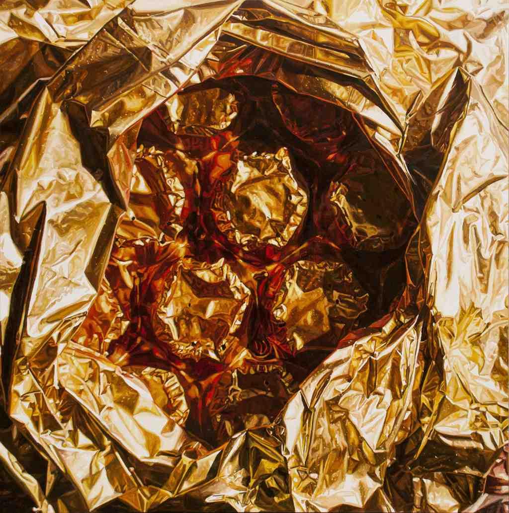 Shroud, de Javier Palacios, en 'Shit Behind Beauty'. Imagen cortesía de Espai Tactel.