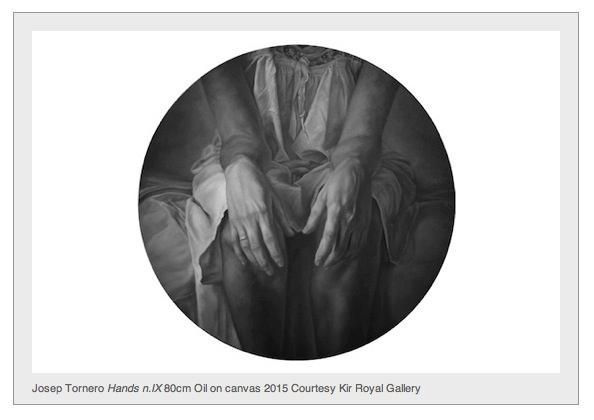 Obra de Josep Tornero en 'Ausencia'. Imagen cortesía de Kir Royal Gallery.