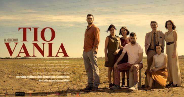 Imagen del cartel de Tío Vania, de Jerónimo Cornelles. Cortesía de Bramant Teatre.