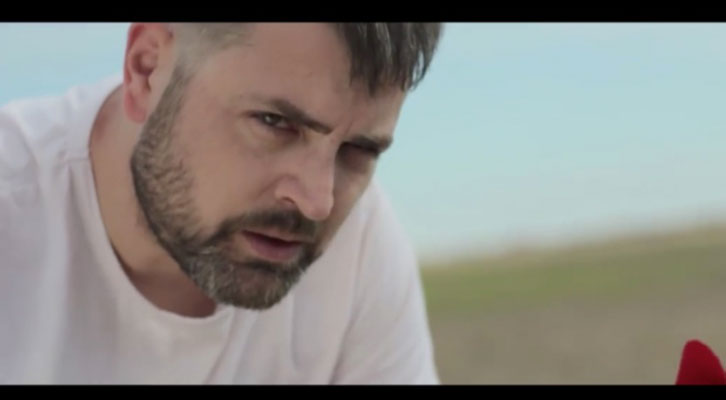 Jerónimo Cornelles en una imagen del video promocional realizado por Escaparate Visual de la obra 'Tío Vania'.