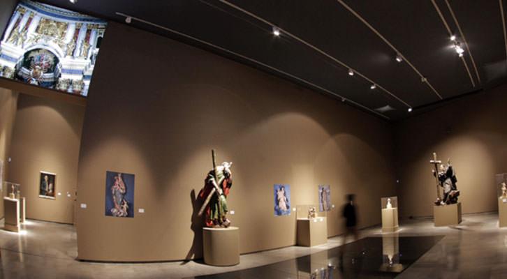 Vista general de la exposición dedicada a Ignacio Vergara. Cortesía de Centro del Carmen.