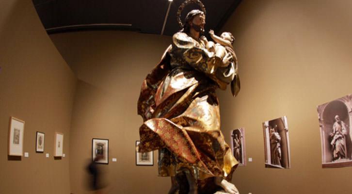 Obras de Ignacio Vergara en el Centro del Carmen. Cortesía del Consorcio de Museos de la Generalitat Valenciana.