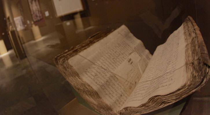 Uno de los documentos incluido en la exposición sobre Ignacio Vergara en el Centro del Carmen. Imagen cortesía del Consorcio de Museos de la Generalitat Valenciana.