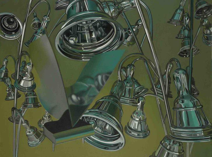 Obra de Teresa Tomás en 'La piel de la escultura'. Imagen cortesía de Col.legi Major Rector Peset.