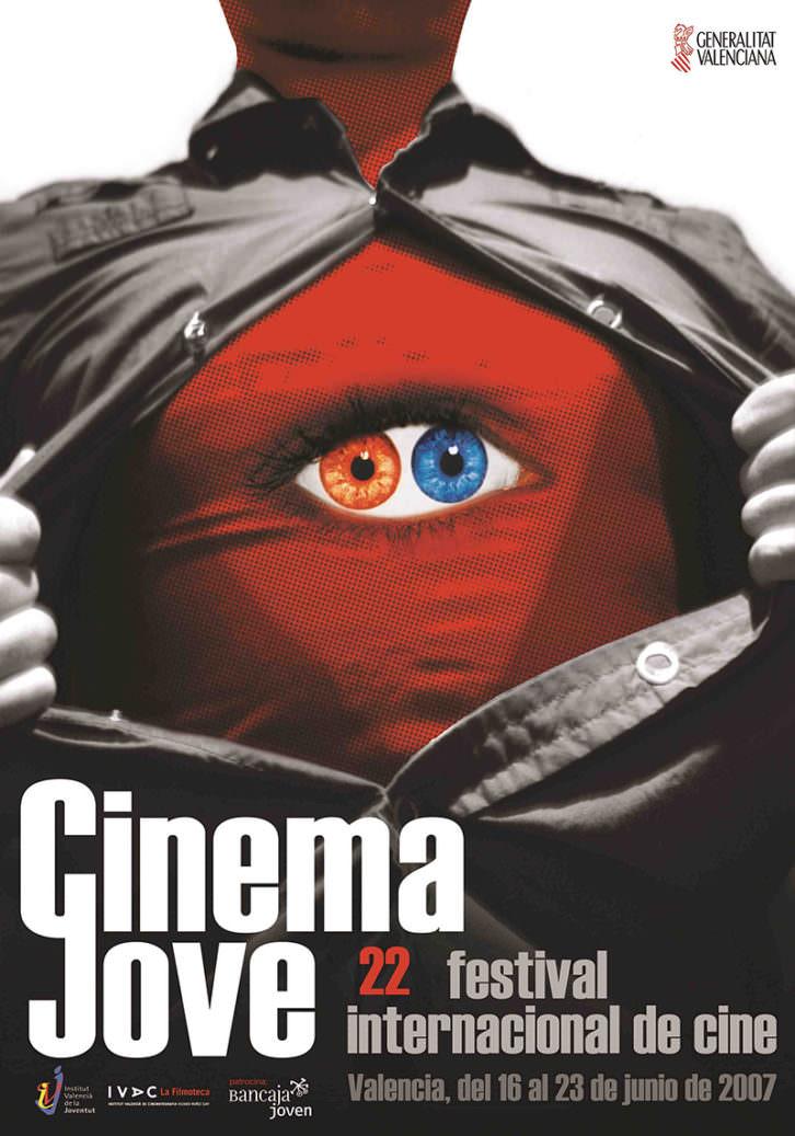 Cartel obra de Casmic-Lab para el Cinema Jove de 2007. Cortesía del Festival.