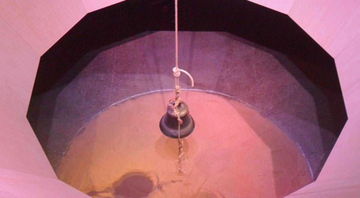 Instalación sonora de Llorenç Barber en La Gallera.