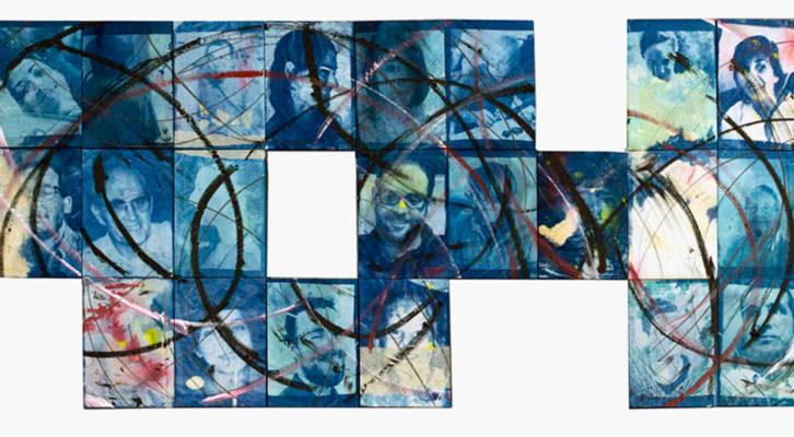 Obra de Carlos Sebastiá en la exposición 'Memory' en See Gallery de Beijing. Imagen cortesía del autor.