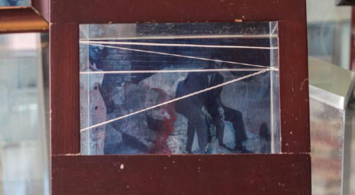 Obra de Carlos Sebastiá en la exposición 'Memory' en See Gallery de Beijing. Cortesía del autor.