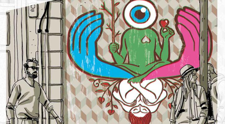Detalle del cartel de Paco Roca.