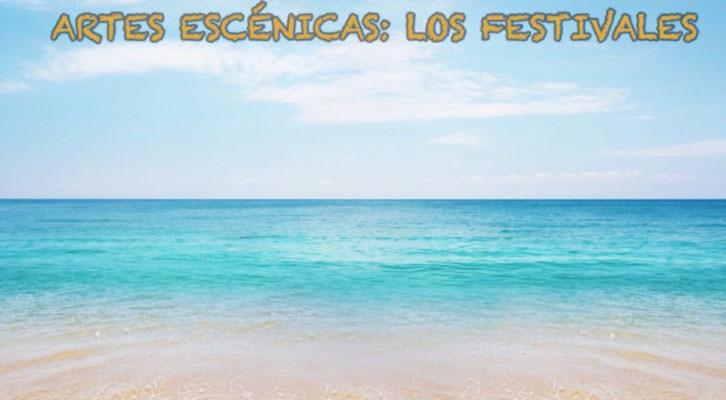 Imagen del video sobre el estudio de los festivales de artes escénicas. Universitat de València.