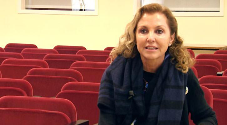 Mariángeles Fayos, presidenta de AVETID, en el video del estudio sobre Nuevas Fórmulas de Gestión de Festivales. Universitat de València.